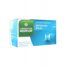 Médiflor n 4 tisane rétention d'eau 24 sachets