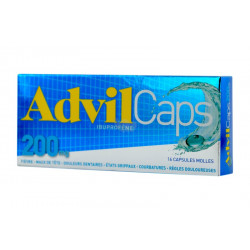AdvilCaps 200mg  bte16 cp