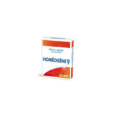 Homéogène 9  comprimés Boiron