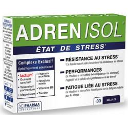 ADRENISOL Etat de Stress 30 gelules 3C PHARMA