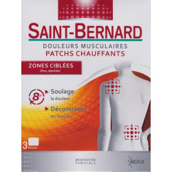Saint Bernard  patch  zone ciblée par 3
