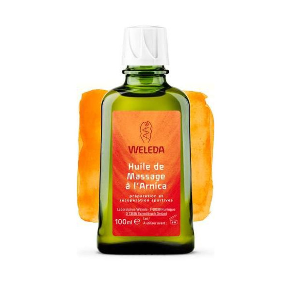 huile de massage l 39 arnica 100ml weleda. Black Bedroom Furniture Sets. Home Design Ideas
