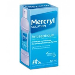 Mercryl  solution  antiseptique 125 ml