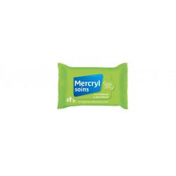 Mercryl  soins 15 lingettes désinfectantes