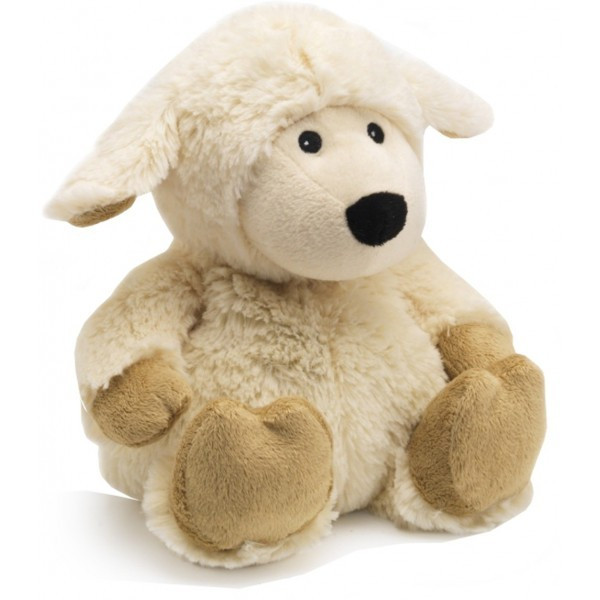 Bouillotte peluche mouton cr me r chauffer au micro onde - Peluche bouillotte micro onde ...