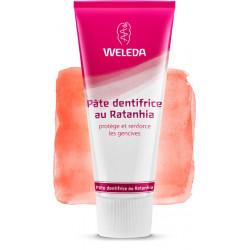 Pâte dentifrice au Ratanhia Weleda