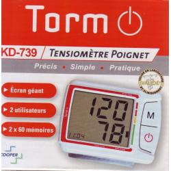 Auto Tensiometre de poignet TORM KD-739