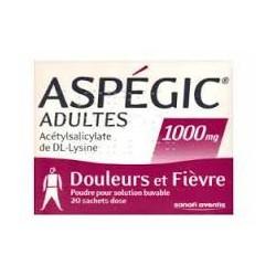 ASPEGIC 1000 sachets 20