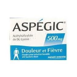 ASPEGIC 500 sachets 20