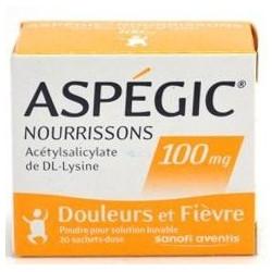 ASPEGIC 100 Boite de 20 sachets