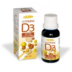 Vitamine D3 100% naturelle solution 20 ml NAT&form