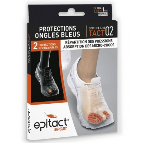 Epithelium Tact 02 protections ongles bleus Epitact Sport