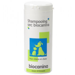 SHAMPOOING SEC BIOCANINA CHIENS ET CHATS