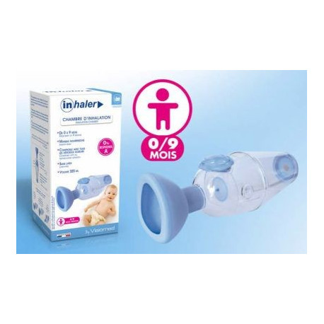 Inhaler Chambre d'inhalation Visiomed