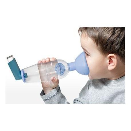 Inhaler chambre d 39 inhalation avec valves en silicone visiomed for Chambre d inhalation