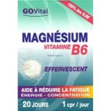 Magnésium Vitamine B6  Effervescent comprimés GOVital
