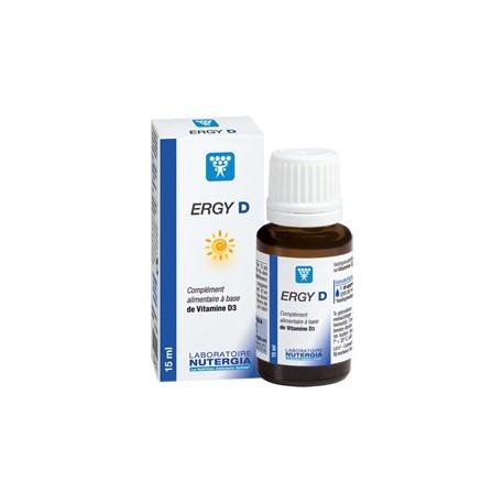 ERGY D solution buvable Nutergia