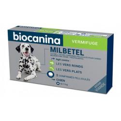 MILBETEL 12,5 mg/125 mg vermifuge chien comprimés Biocanina