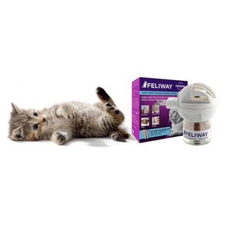 Feliway Diffuseur pour chat + recharge 48 ml
