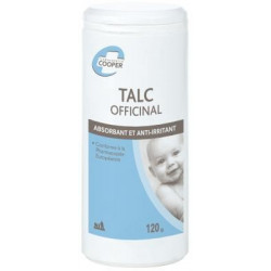 Talc Officinal Cooper 120 g