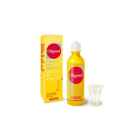 Cuivre-Or-Argent Oligosol solution 60 ml