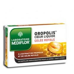 OROPOLIS coeur liquide Gelée royale pastilles pour la gorge