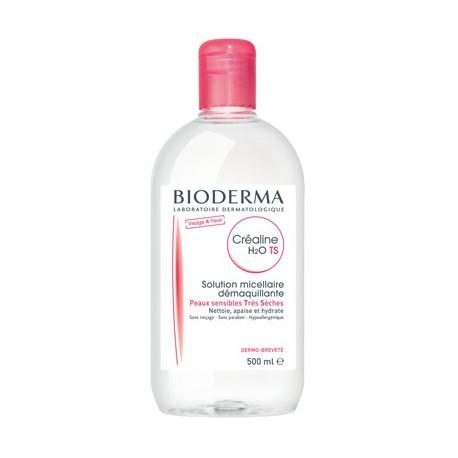 Crealine H2O TS Solution micellaire Peaux Très sèches 500 ml BIODERMA