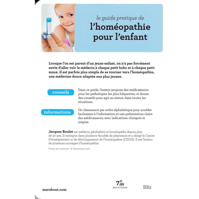 L'Homéopathie pour l'enfant Livre du Dr Jacques Boulet