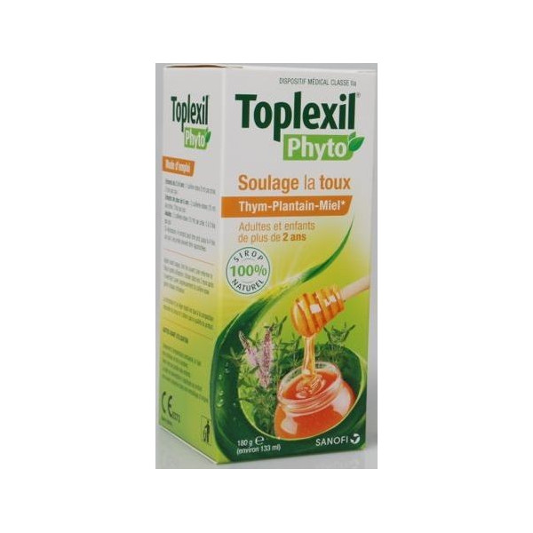 toplexil phyto sirop toux adulte enfant 133 ml. Black Bedroom Furniture Sets. Home Design Ideas
