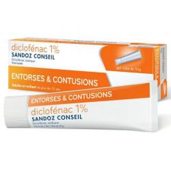 Diclofenac gel 50 g SANDOZ Conseil