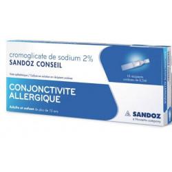 Cromoglicate de sodium Sandoz Conseil 2%