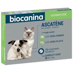 ASCATENE Comprimés Vermifuge Biocanina
