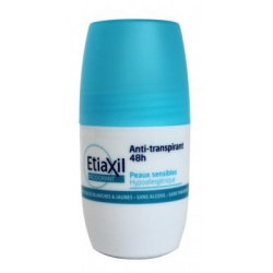 Etiaxil Anti-transpirant 48 h Roll-on peaux sensibles