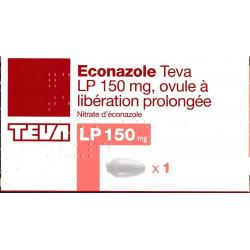 Econazole LP 150 Ovule à libération prolongée Teva