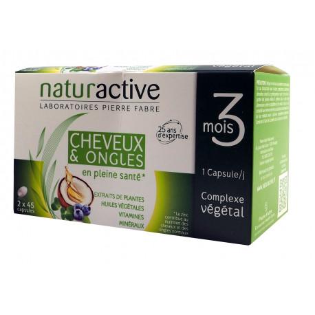 Cheveux et Ongles Naturactive capsules pour 3 mois