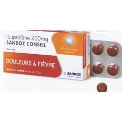 Ibuprofène 200 Sandoz Conseil Comprimés