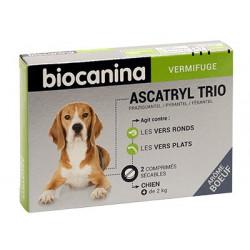 Ascatryl trio Vermifuge chien comprimés Biocanina