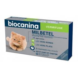 MILBETEL 4 mg/10 mg vermifuge Petit chat, chaton Biocanina