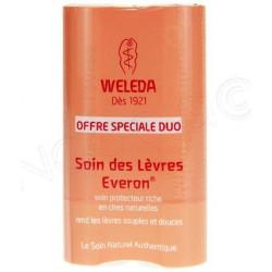 EVERON  Soin des Lèvres Stick Duo WELEDA
