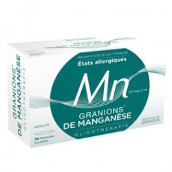 Granions Manganese 30 ampoules