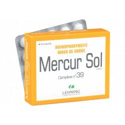 Mercur Sol Complexe N 39 comprimés Lehning