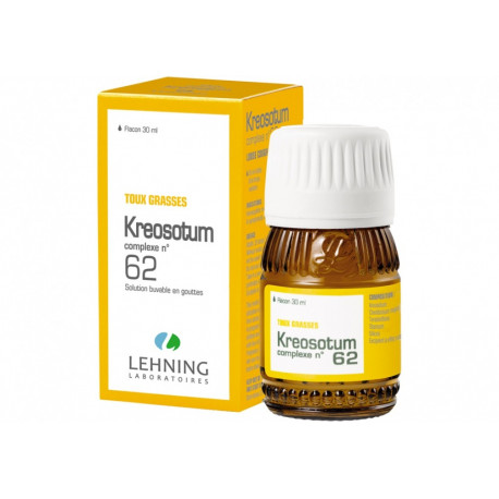 Kreosotum Complexe N 62 gouttes Lehning solution buvable