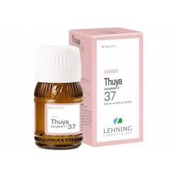 Thuya Complexe N 37 gouttes Lehning
