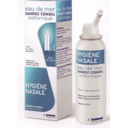 Eau de Mer isotonique spray nasal 100 ml Sandoz