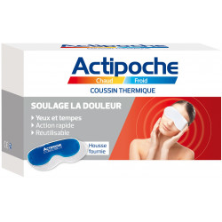 Actipoche Masque Yeux et tempes Chaud Froid