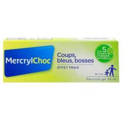 MercrylChoc gel frais coups, bosses