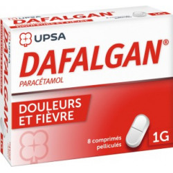 Dafalgan 1G 8 comprimes pelliculés