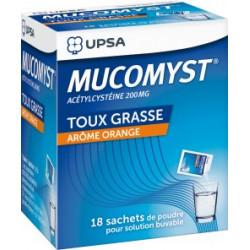 MUCOMYST 200 mg poudre 18 sachets