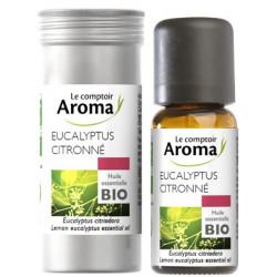 Eucalyptus citronné Huile Essentielle 10 ml Comptoir Aroma