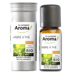 Arbre à thé (Tea Tree)  Huile Essentielle Bio 10 ml Comptoir Aroma